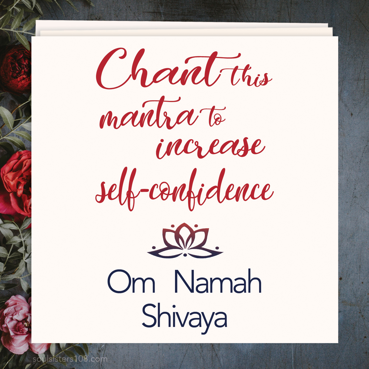 Soul Sisters 108 Mantra Cards Self-Confidence